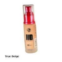 W7 High Definition Foundation 30ml - True Beige