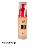W7 High Definition Foundation 30ml - Natural Beige
