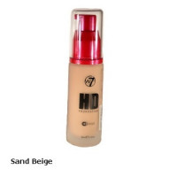 W7 High Definition Foundation 30ml - Sand Beige