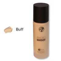 W7 16HR Photoshoot Glass Foundation 28ml - BUFF