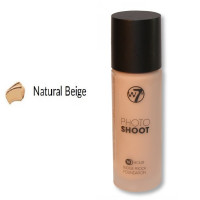 W7 16HR Photoshoot Glass Foundation 28ml - NATURAL BEIGE