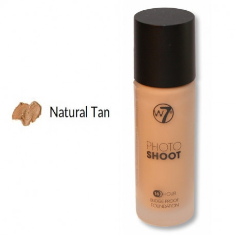 W7 16HR Photoshoot Glass Foundation 28ml - NATURAL TAN