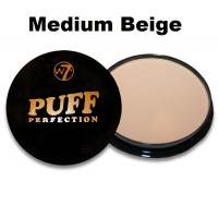 W7 Puff Perfection Powder 10g - Medium Beige