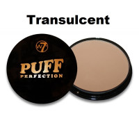 W7 Puff Perfection Powder 10g - Translucent