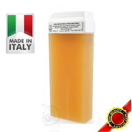 Roial Κερί αποτρίχωσης Ρολλέτα Κίτρινη Μέλι 100ml