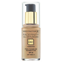 Max Factor Facefinity All Day Flawless 3 In 1 Foundation Soft Honey 77 30ml SPF20