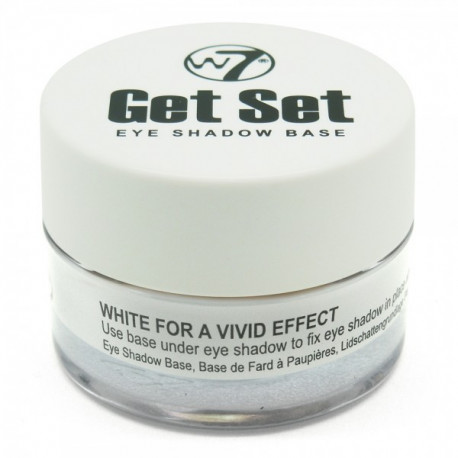 W7 Get Set Eye Shadow Base 7g - White