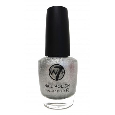 W7 Silver (31) Nail Polish 15ml