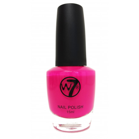 W7 Fuchsia (78) Nail Polish 15ml