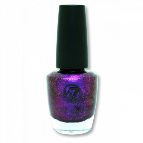W7 Purple Rain (106) Nail Polish 15ml