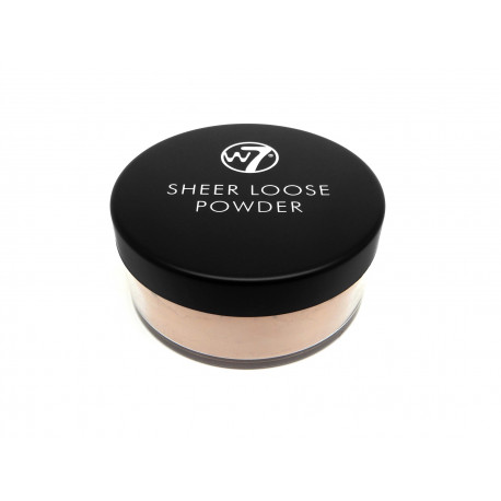 W7 Sheer loose powder honey 20g