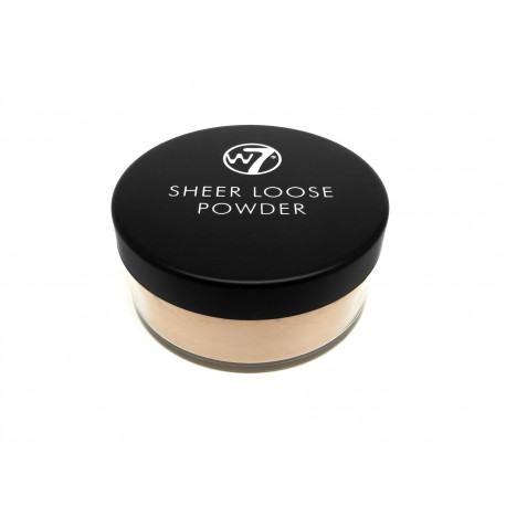 W7 Sheer loose powder natural beige 20g