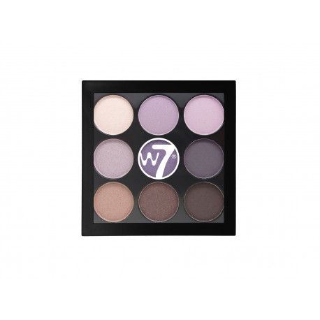 W7 Naughty Nine Eyeshadow Palette Bangkok 4,5g
