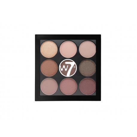 W7 Naughty Nine Eyeshadow Palette Mid Summer 4,5g