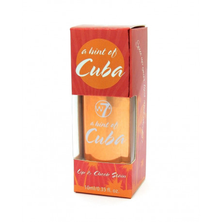 W7 Lip-and-cheek-stain-cuba-bottle 10ml