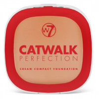 W7 Catwalk perfection cream compact foundation beige 6g