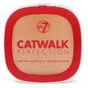 W7 Catwalk perfection cream compact foundation beige 6g