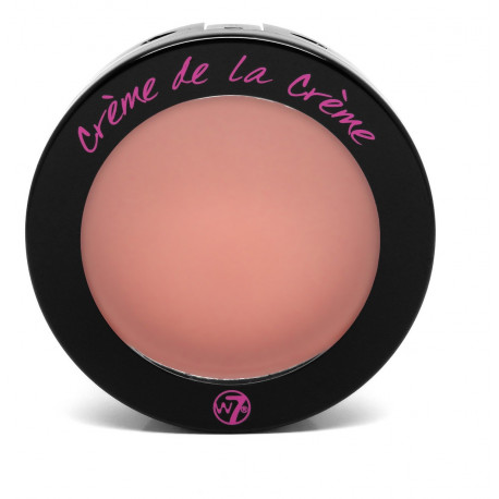 W7 Cream De La Cream Blusher Blush Baby 6g