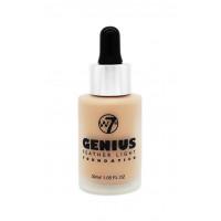 W7 Genius Foundation Sand Beige 30ml