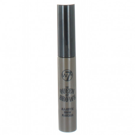 W7 The Queen of Brows Majestic Brow Mascara Brown 8ml