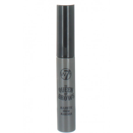 W7 The Queen of Brows Majestic Brow Mascara Medium Deep 8ml