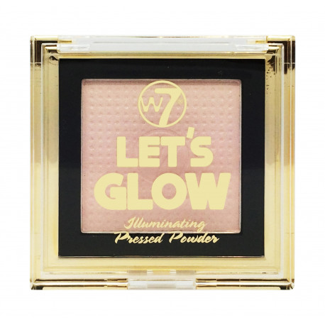 W7 Lets Glow Illuminating Pressed Powder 6g