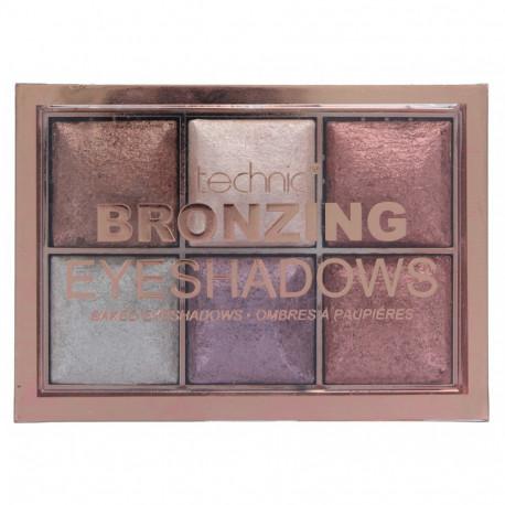 Technic Bronzing Eyeshadows 6x2g