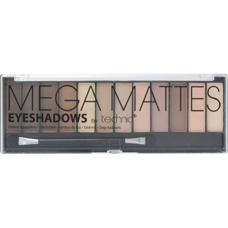 Mega Mattes Eyeshadow Technic 12x1,5g