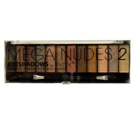 Technic Mega Nudes 2 Eyeshadows Compact 12x1,5g