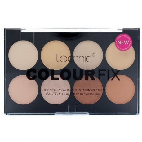 Technic Colour Fix Pressed Powder Contour Palette 8x3,5g