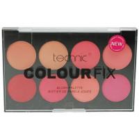 Technic Colour Fix Pressed Powder Colour Blush Palette 8x3,5g
