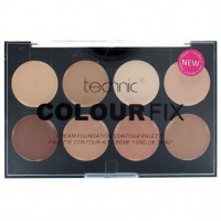 Technic Colour Fix Cream Foundation Contour Palette 8x3,5g