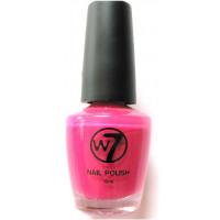 W7 Hot Pink (79) Nail Polish 15ml