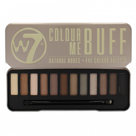 W7 In The Buff Eye Colour Palette Eye Shadow 15.6g