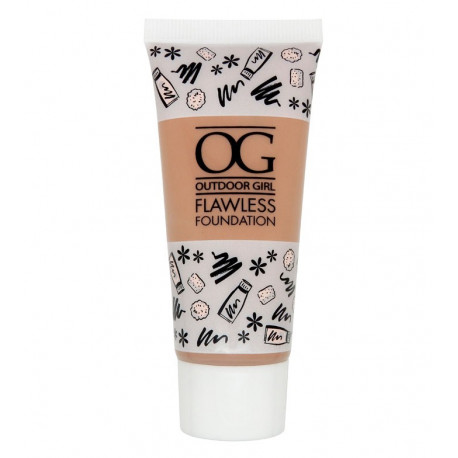 W7 Outdoor Girl Flawless Foundation 30ml True Beige