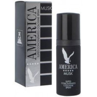 America Musk Super Concentrated Cologne Spray (Mens 50ml EDT) Milton Lloyd