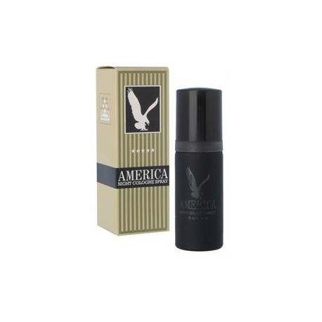 America Night Cologne Spray (Mens 50ml EDT) Milton Lloyd