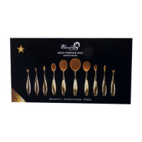 Brush set Oval black