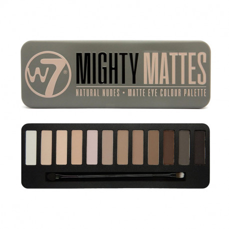 W7 Might Matte Natural Nude Eye Colour Palette 15,6gr