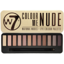 W7 Colour Me Nude, Natural Nudes Eye Colour Palette Eye Shadow 15.6g