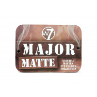 W7 Major Matte Eye Colour Collection 10g