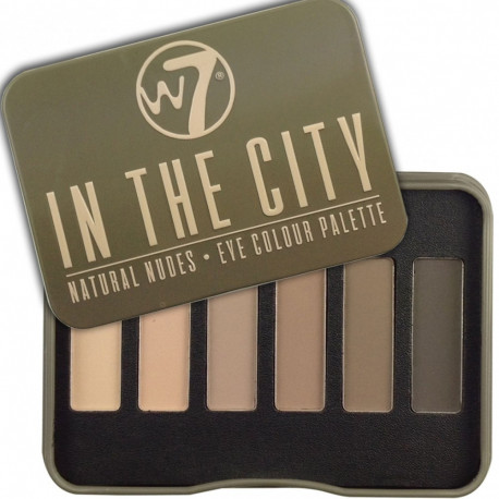 W7 In The City Eye Colour Palette 7g
