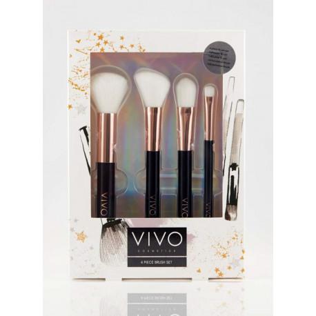 VIVO 4 Piece Brush Set