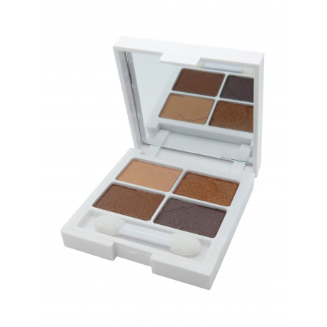 W7 Very Vegan Eyeshadow Quad Autumn Ambers 6g