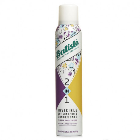 Batiste 2-in-1 Invisible Dry Shampoo & Conditioner - Vanilla & Passionflower