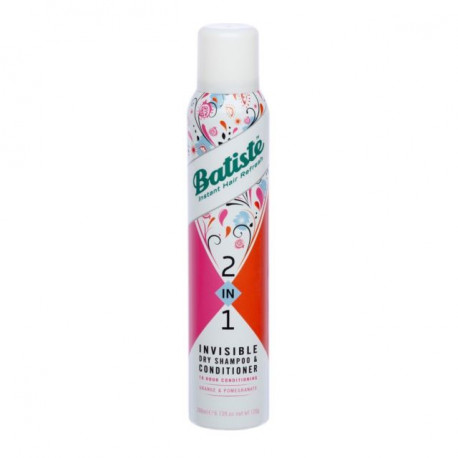Batiste 2-in-1 Invisible Dry Shampoo & Conditioner 200ml - Orange & Pomegranate