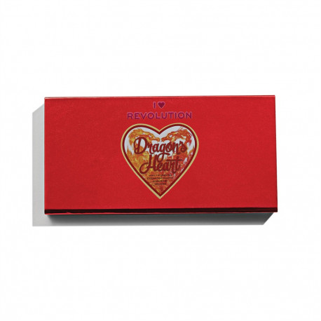 I Heart Revolution Dragons Heart Eyeshadow Palette 12x0.75gr