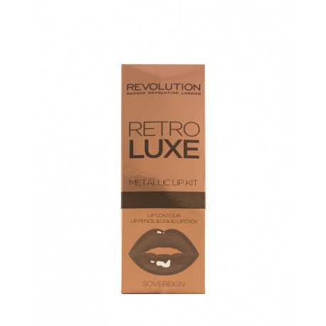 Revolution Retro Luxe Kits Metallic Sovereign