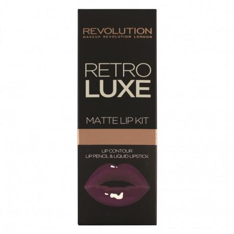 Revolution Retro Luxe Kits Matte Royal