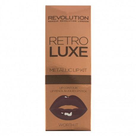 Revolution Retro Luxe Kits Metallic Worth It